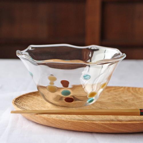 かき氷鉢 ガラス器 小鉢 吹きガラス Hono工房